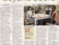 Ajax-Pickering News Advertisor - Tapestry -- Summer 2012 - Beyond Books, Ajax Public Library_1
